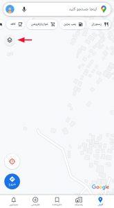 انتخاب یک محدوده برای رسم جاده روی نقشه گوگل