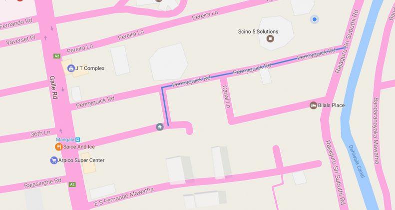 طرحی از روش اولیهی گزارش غیرمستقیم نقص مسیرها در گوگل مپ